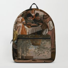 The Dancing Couple - Jan Steen Backpack