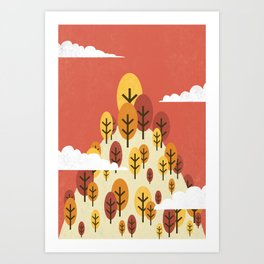 Goodbye Summer, Hello Fall Art Print