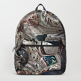 Three Dimensional Reflections Backpack