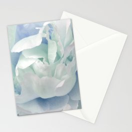 Peony in Blue White Stationery Cards