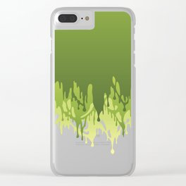 Grime Clear iPhone Case