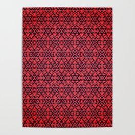 Pattern design background seamless Poster
