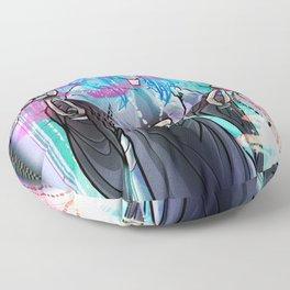 In Nomine Spiritus Machina Floor Pillow