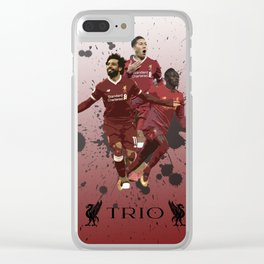 Liverpool trio attack Clear iPhone Case
