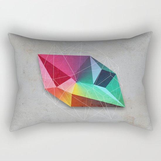 Mineral Geometry #1 Rectangular Pillow