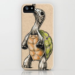 Tortoise and Butterfly iPhone Case