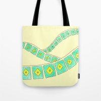 brasil Tote Bags featuring Brasil by Luana Rios