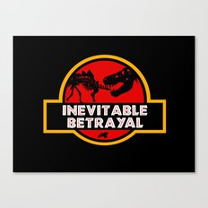 Jurassic Betrayal Canvas Print