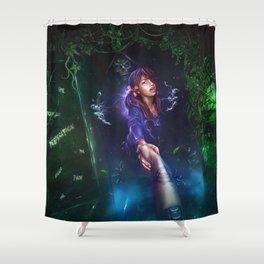 Light in the Dark Shower Curtain