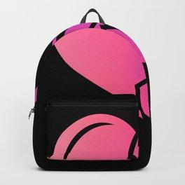 Pink Turbo Heart Gift for Tuner JDM Fan Backpack