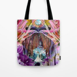 Fairy and Unicorn, Fantasy Forest Tote Bag