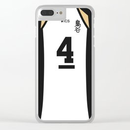 Bokuto's Jersey Clear iPhone Case