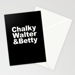 Chalky, Walter & Betty Stationery Cards