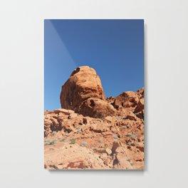 Desert Rocks Metal Print