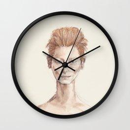 Tilda Swinton Inspiration Wall Clock