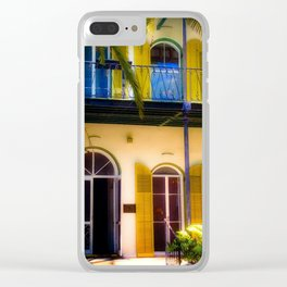 Hemingway House Clear iPhone Case