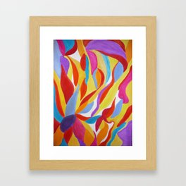 Divine Flowers Framed Art Print