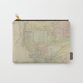 Vintage Map of Buffalo NY (1866) Carry-All Pouch