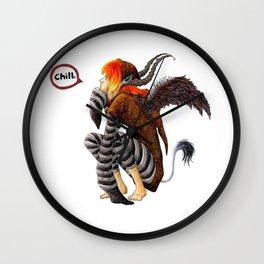 Zebra mi-mi-me Wall Clock