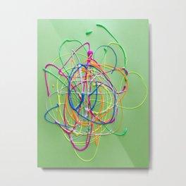 Colors in Team Acrylic Metal Print