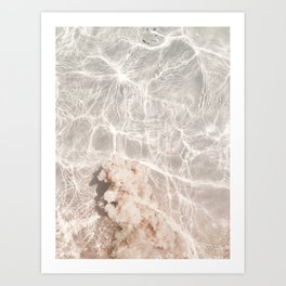 Clearly Sea Art Print
