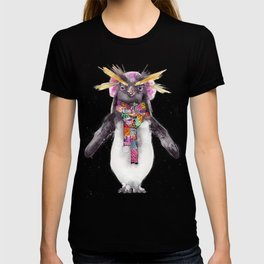 Penguin in a scarf (female) T-shirt