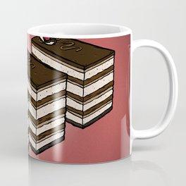 O is for Opera Cake Coffee Mug
