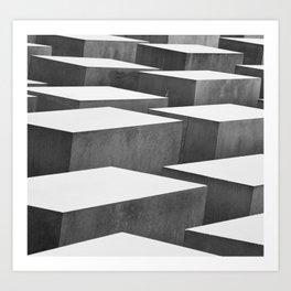Cubic Labyrinth Art Print