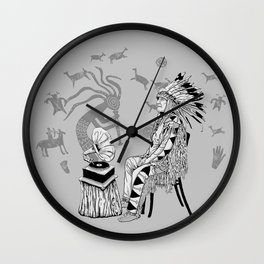 Spiritual Beginning Wall Clock