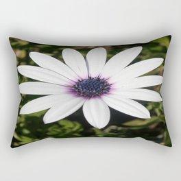 White African Daisy Rectangular Pillow