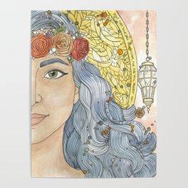 Lady Wisdom (Sophia) Poster