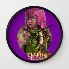 clash n clans Archer Wall Clock