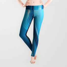 Streaming Deep Blues Leggings