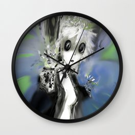 Necroette Wall Clock