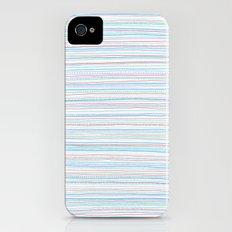 Pattern With Orange Dots Slim Case iPhone (4, 4s)