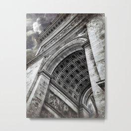Arc de Triomphe | Paris [Sky cut 428]  Metal Print