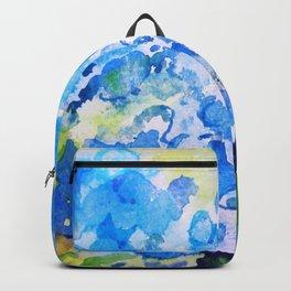 Blue Hydrangeas Backpack