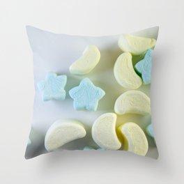 Fluff 3 Throw Pillow