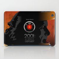 2001 a space odyssey iPad Cases featuring 2001 - A space odyssey by Martin Woutisseth