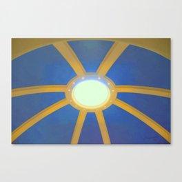 Decorated Concrete 004 Canvas Print