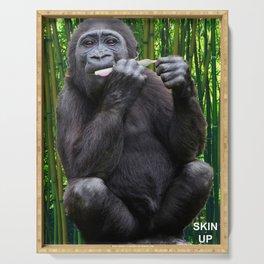 Skin-up Gorilla Serving Tray