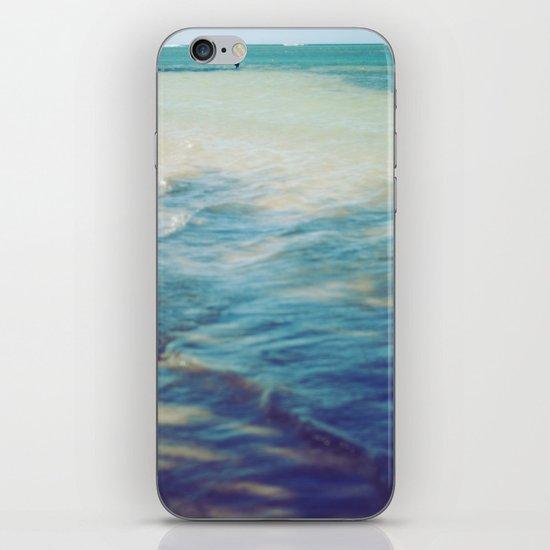 Fisherman in the distance, Mauritius II iPhone Skin