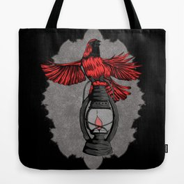 The Cardinal - Dark Tote Bag