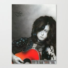 'Jimmy Page' Canvas Print