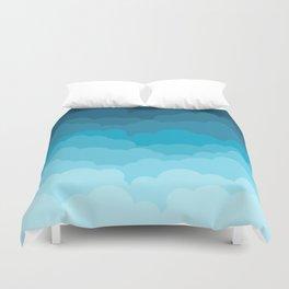 Gradient Clouds Duvet Cover
