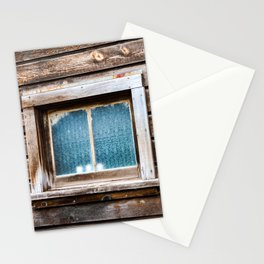 Downieville Cabin Window. California. USA. Stationery Cards