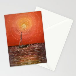 Miami Sunset Stationery Cards