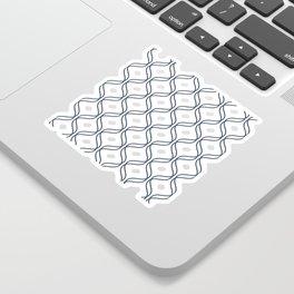 Double Helix - Navy #535 Sticker