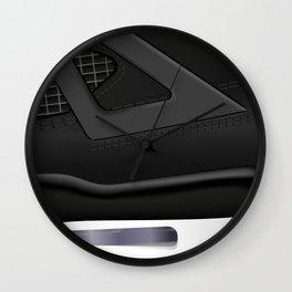 ABSTRACT SNEAKER JUMPMAN 4 Wall Clock