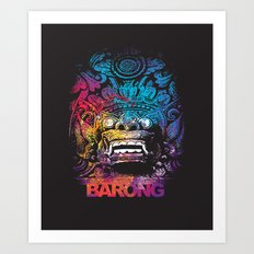 United Colour of Barong Art Print